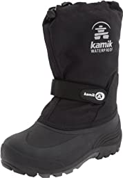 Kamik Waterbug Wide Cold Weather Boot (Toddler/Little Kid/Big Kid),Black,8 W US Toddler