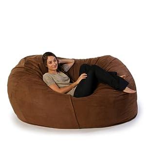 Jaxx Sofa Saxx Giant Bean Bag Lounger by One Up Innovations Inc
