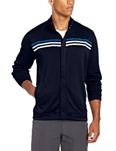 (新低)Adidas Golf Men Climalite Long Sleeve Jacket阿迪达斯男式外套NAVY,$30.96