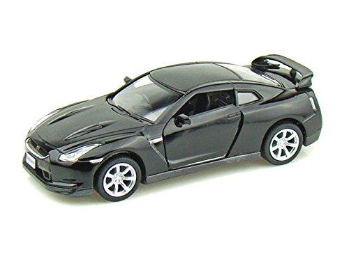 2009 Nissan GT-R R35 1/36 Black - 1