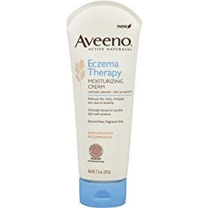 Aveeno Eczema Therapy Moisturizing Cream, 7.3 Ounce