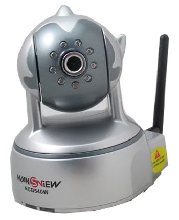 Wansview Genuine  Surveillance Wireless 802.11b/g wifi ip camera, Color Pan:350?Tilt:100?IR Pan Tilt Audio Mobile Phone View FTP E at Sears.com