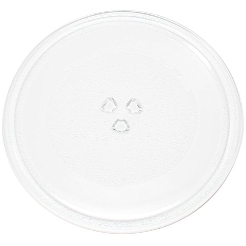 Microwave Glass Plate Replacement for Magic Chef, Rival, Emerson, Daewoo, Ewave, Avanti, Proline, Panasonic - Compatible with Magic Chef MCB780W, Rival EM720CWA-PM, Rival EM720CWA - 10