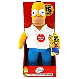 The Simpsons 25th Anniversary 14'' Homer Simpson Collectible Plush with Sound