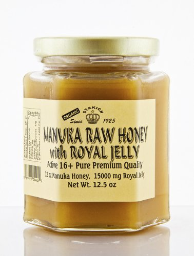 MANUKA ROYAL JELLY RAW HONEY 12.5 OZ ACTIVE 16+