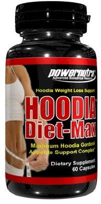 Hoodia Diet-Max - 60 Capsules Maximum Hoodia Gordonii Appetite Suppressant Weight Loss Diet Pills