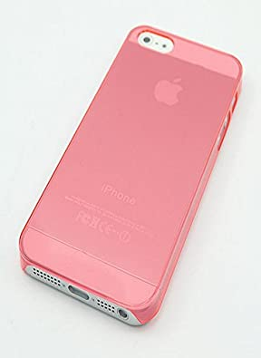Great Deals on Click Sales, Apple iPhone 5 5G 5S, Hard Case Cover + STYLUS PEN (Pink ultra thin)