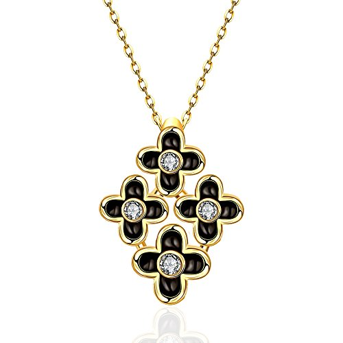 [Fashion Quality Pearl and Diamond Accent Pendant Inlay Crystal Necklaces-Guillermo B. Randle] (Homemade Flower Fairy Costume)