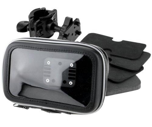 Wasserdicht-GPS-Navigation-Tasche-mit-Halter-passt-fr-Motorrad-und-Farrad