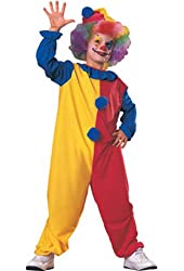 Haunted House Child's Clown Costume