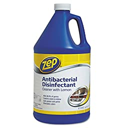 Zep Commercial 128 Oz. Antibacterial Disinfectant And All-Purpose Cleaner
