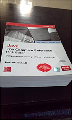 complete reference java Java: the complete reference, ninth edition [herbert schildt] on amazoncom  free shipping on qualifying offers the definitive java programming guide.