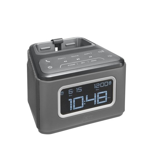 JAM ZZZ Wireless Alarm Clock (Grey) HX-B510GY