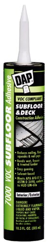 Dap 27042 7000 Sub-Floor and Deck Construction Adhesive 29-Ounce