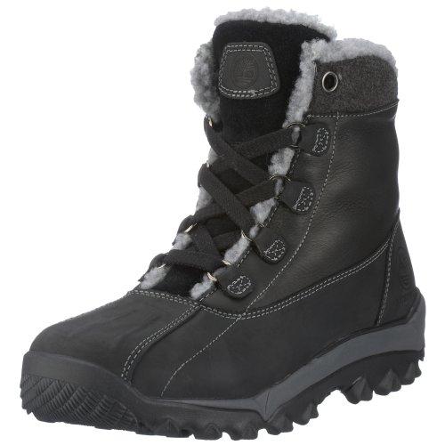 Timberland Men's 93102 Woodbury Shearling Waterproof Boot,Black,7.5 M US