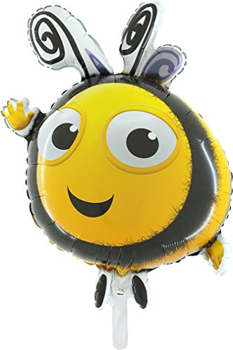 "33"" Bumble Bee Shaped Foil Balloon [Toy]"