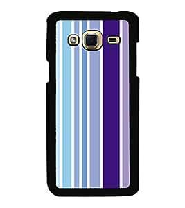 Printvisa Ultra Multicolour Lines Pattern 2D Hard Polycarbonate Designer Back Case Cover for ...