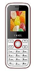 I KALL K18 Dual Sim Feature Phone- White Red