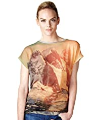 Limited Collection Scenic Print T-Shirt