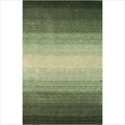 "Majestic Green Contemporary Rug Size: 3'6"" x 5'6"""