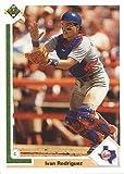 1991 Upper Deck Final Edition Baseball #55F Ivan Rodriguez Rookie Card