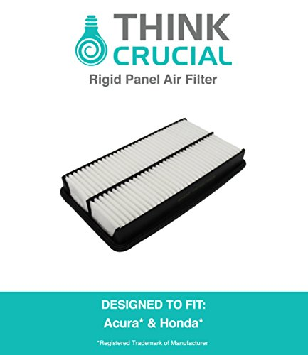 Rigid Panel Air Filter Fits Acura Truck MDX, Honda Truck Odyssey & More, Compare to Part # CA10013 & A25651, Designed & Engineered by Think Crucial