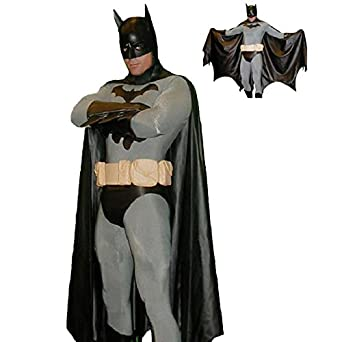Merryfun Men's Halloween Batman the Knight Rise Cosplay Outfit