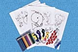 **Super Duper Shrinky Dink Mega Pack with 2 Bonus Blank Sheets -- Shrinky Dinks Shrink When You Bake Them!