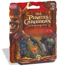 Picture of Mega Brand Pirates of the Caribbean: Davy Jones & Clanker Figure 2-Pack (B000OT8ITW) (Mega Brand Action Figures)