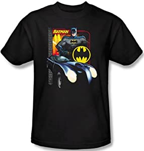 DC Comics - Batman Batmobile Men's T-Shirt