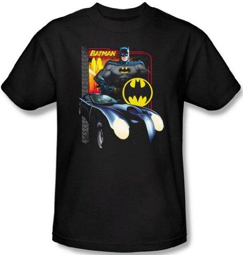 DC Comics - Batman Batmobile Men's T-Shirt