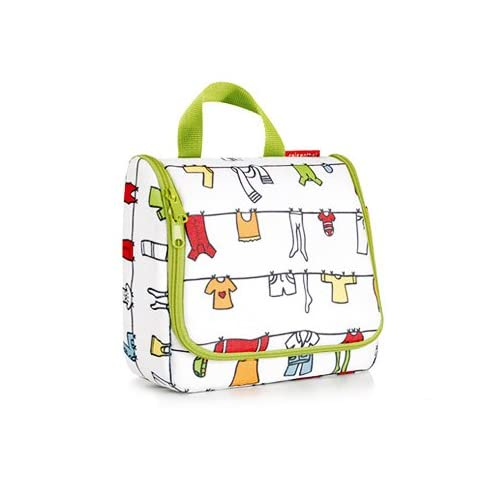 reisenthel ライゼンタール toiletbag トイレットバッグ [ CLOTHELINE COLORFUL ] 化粧ポーチ