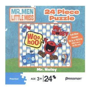 Mr. Noisy 24 Piece Puzzle - Mr. Men Little Miss Series