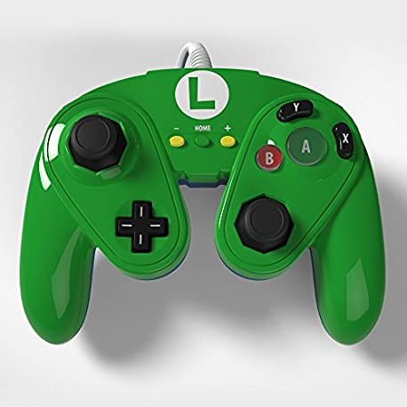 Wired Fight Pad - Luigi