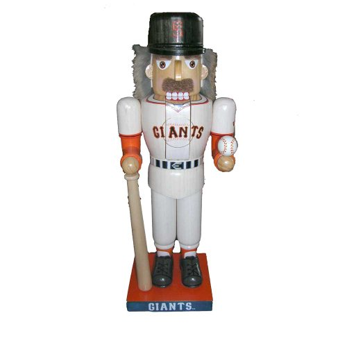 Kurt Adler 14 Inch San Francisco Giants Baseball Player Nutcracker