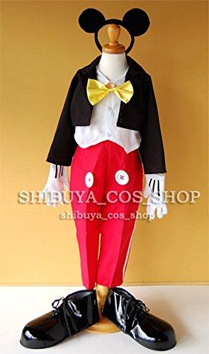 高品質★コスプレ衣装  ディズニー  ミッキー     オーダーサイズ可能 クリスマス、ハロウィン イベント仮装  コスチューム