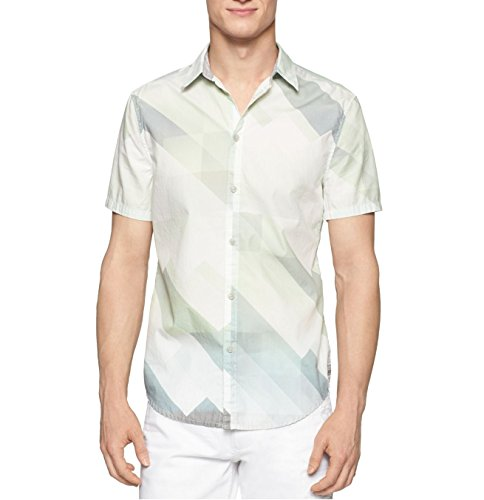 Calvin Klein Jeans Reflection Print Shirt Airglow, XLarge
