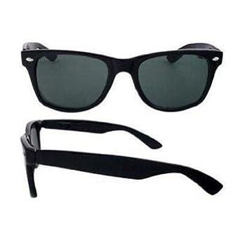 Blues Brothers Wayfarer Dark Black Sun Glasses, Black
