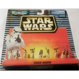 Micro Machines Star Wars Set #66080 the Tusken Raiders - 1
