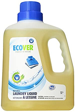 Ecover Natural Plant-based Laundry Liquid, 100 ounce