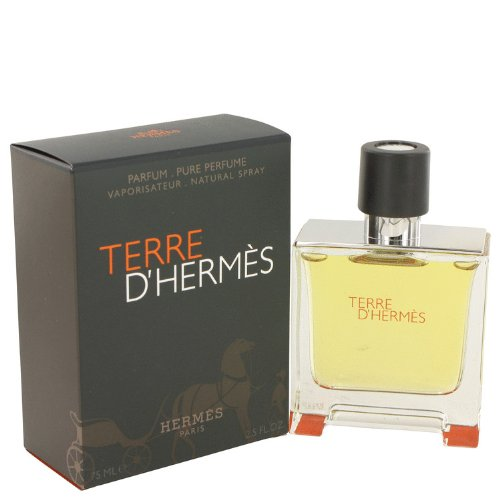 Парфюмерия Terre D'Hermes by Hermes Pure Pefume Spray 2.5 oz / 75 ml for Men + Solo Loewe by Loewe Vial (sample) .07 oz for Men