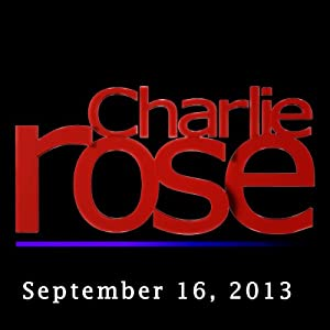 Charlie Rose: Lionel Barber, Astro Teller, and Ricky Gervais, September 16, 2013 Radio/TV Program