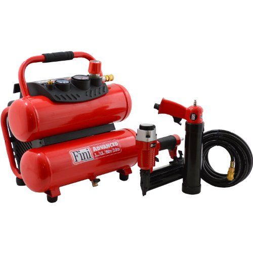 Fini F3Gst2Tk 3-Gallon 150 Psi Two Tool Combo