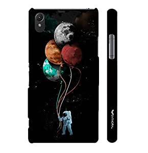 Sony Xperia Z1 Astronauts Toys designer mobile hard shell case by Enthopia