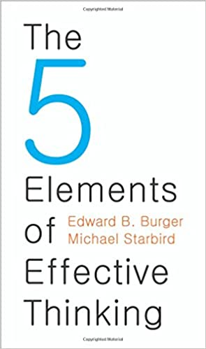 The Five Elements of Effective Thinking Audio Book Free Online