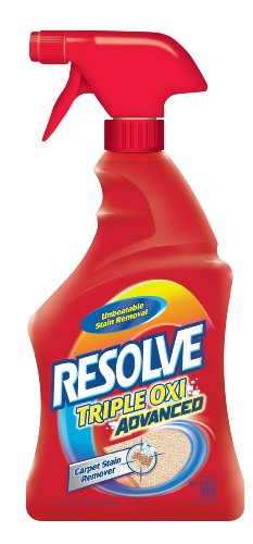Resolve Carpet Triple Oxi Advanced Carpet Stain Remover, 22 Ounce