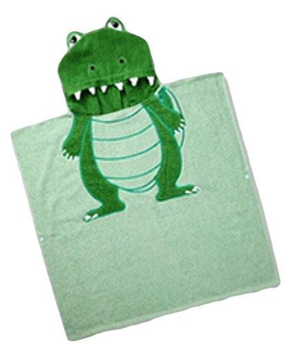 G.G.MAX 子供達も大喜び お風呂が大好きになる アニマル 動物 着ぐるみ 厚手 バスタオル SS12-02 (恐竜)