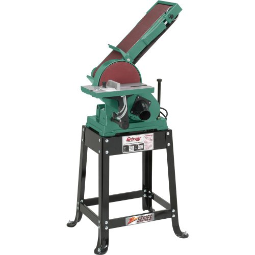 Grizzly-G1014Z-Disc-Z-Series-Combination-Sander-with-Belt-6-x-48-Inch