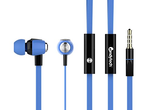 Candytech Stereo Sound Earphone (Blue)