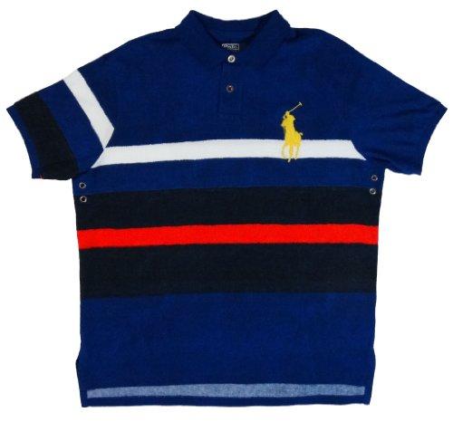 Polo Ralph Lauren Custom Fit Big Pony Polo Shirt 2Xl Blue